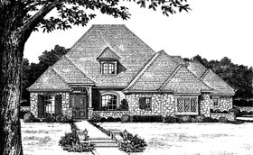 Plan Number 97844 - 4390 Square Feet