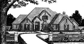 Plan Number 97848 - 3709 Square Feet