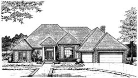 Colonial European House Plan 97852 Elevation