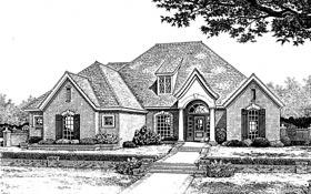 Colonial European House Plan 97861 Elevation