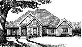 Bungalow European Tudor House Plan 97870 Elevation