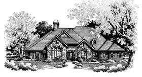 Plan Number 97880 - 3262 Square Feet