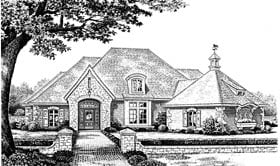 European Victorian House Plan 97882 Elevation