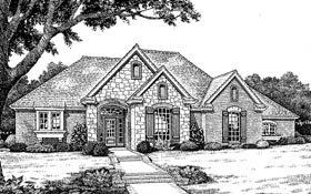 Bungalow Traditional House Plan 97898 Elevation
