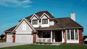 Country European House Plan 97903 Elevation