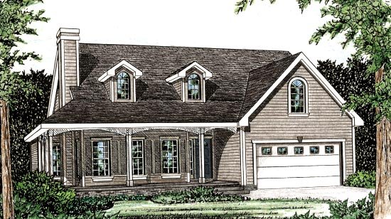 Country House Plan 97914 Elevation