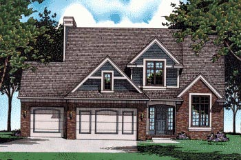 Bungalow Country House Plan 97924 Elevation