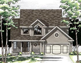 Country House Plan 97925 Elevation