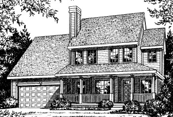 Country Traditional House Plan 97926 Elevation