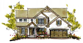 Bungalow Colonial House Plan 97936 Elevation