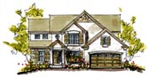 Plan Number 97936 - 2608 Square Feet
