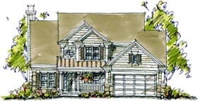 Bungalow Country House Plan 97937 Elevation