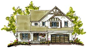 Bungalow Country Craftsman House Plan 97941 Elevation