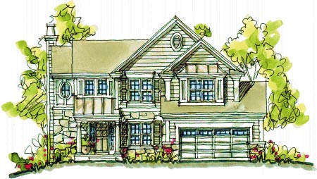 Bungalow Country House Plan 97943 Elevation