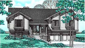 Traditional House Plan 97956 Elevation