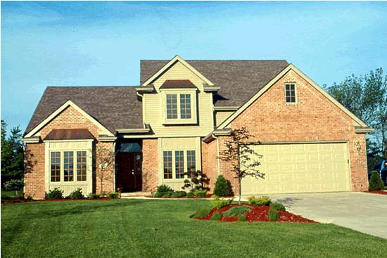 Country, European, Traditional House Plan 97970 with 4 Beds, 3 Baths, 2 Car Garage Picture 1