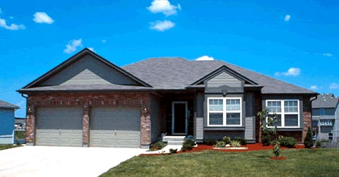 Traditional, House Plan 97988 with 3 Beds, 2 Baths, 2 Car Garage