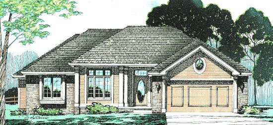 Traditional House Plan 97989 Elevation