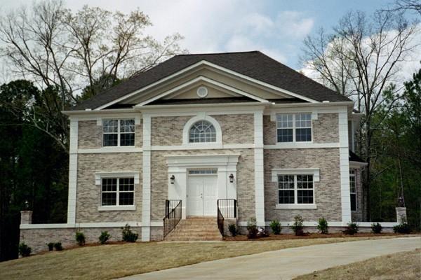 Colonial, European, House Plan 98200 with 4 Beds, 4 Baths, 3 Car Garage