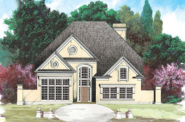 Country Farmhouse House Plan 98210 Elevation