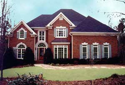 European, Victorian House Plan 98218 with 4 Beds, 4 Baths, 2 Car Garage Picture 1