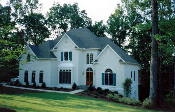 European, Victorian House Plan 98218 with 4 Beds, 4 Baths, 2 Car Garage Picture 2