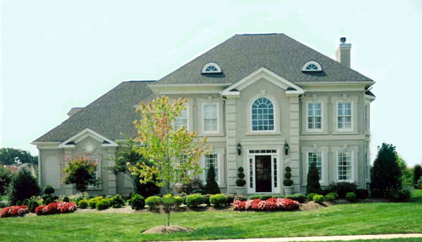 Colonial, European House Plan 98232 with 4 Beds, 4 Baths, 2 Car Garage Picture 1
