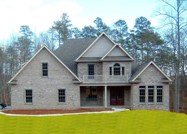 European, Victorian House Plan 98242 with 4 Beds, 4 Baths, 2 Car Garage Picture 1