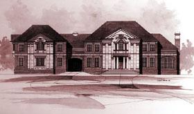 Colonial Greek Revival House Plan 98269 Elevation