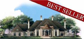 European Greek Revival Victorian House Plan 98273 Elevation