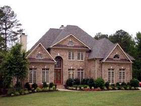 Colonial Greek Revival House Plan 98297 Elevation