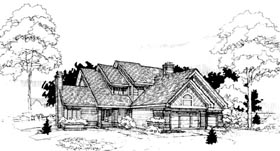 Contemporary House Plan 98305 Elevation