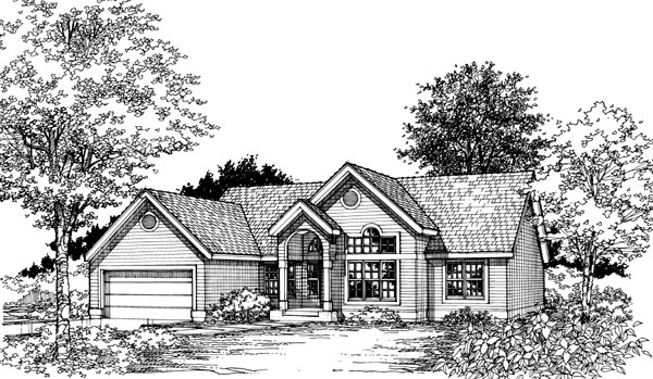 Colonial Traditional House Plan 98317 Elevation