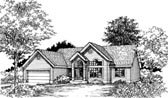 Plan Number 98317 - 1700 Square Feet