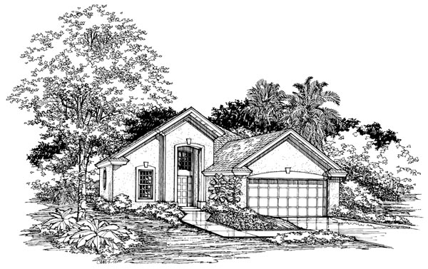 Traditional House Plan 98318 Elevation
