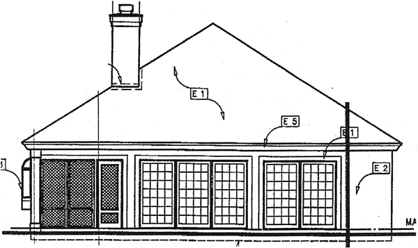 Traditional House Plan 98318 Rear Elevation