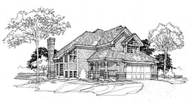 Bungalow Country House Plan 98330 Elevation