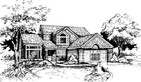 Traditional House Plan 98331 Elevation