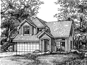Country House Plan 98334 Elevation
