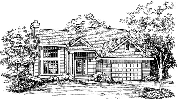 Traditional House Plan 98343 Elevation