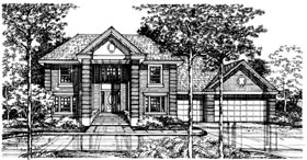 Plan Number 98362 - 2982 Square Feet
