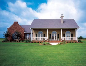 Prairie Style Southwest House Plan 98366 Elevation