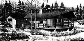 Ranch House Plan 98378 Elevation