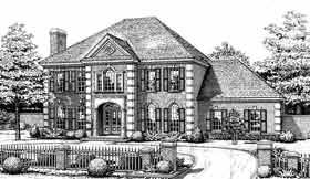 Plan Number 98514 - 3381 Square Feet