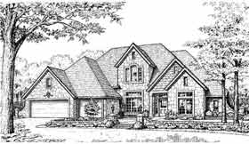 Plan Number 98524 - 2902 Square Feet