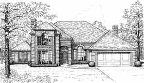 European French Country House Plan 98542 Elevation