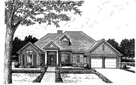 Colonial European House Plan 98571 Elevation