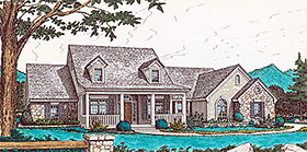 Country House Plan 98583 Elevation