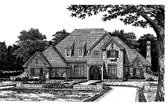Plan Number 98591 - 4167 Square Feet