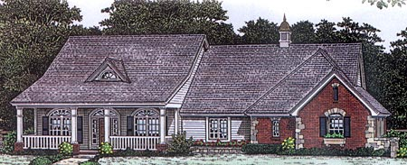 Country House Plan 98594 Elevation